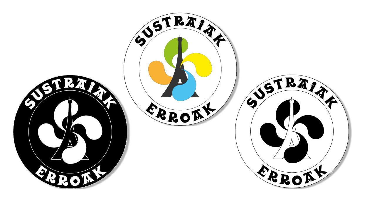 Logo conçu sur illustrator pour une association basque