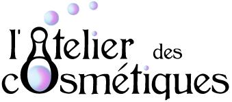 logo réalisé pour l'atelier des cosmétiques