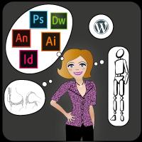 Compérences de Lucie-Infographiste