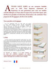 Catalogue pour l'atelier saint sabin