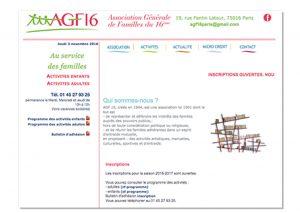 Lucie Infographiste Site pour une association Lucie d'Argence infographiste