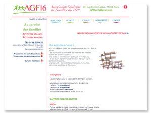 Modernisation et maintenance du site pour une association
