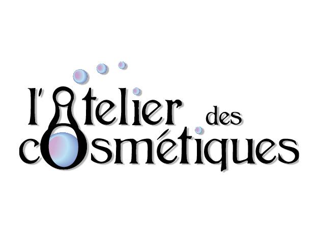 Logo fait sur illustrator pour un atelier de cosmétiques